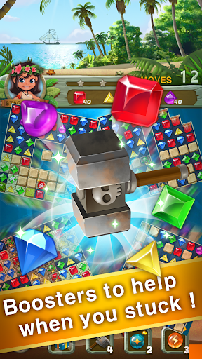 Paradise Jewel: Match 3 Puzzle  screenshots 4