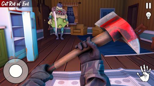 Scary Horror Clown Survival: Death Park Escape 3D  screenshots 9