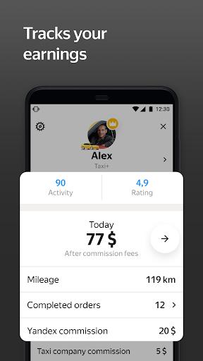 Yandex Pro (Taximeter)u2014Driver job in taxi for ride apktram screenshots 5