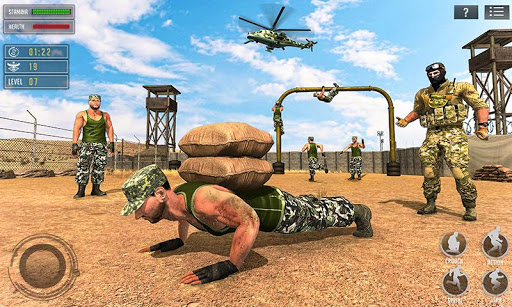 US Army Training School Game: Obstacle Course Race screenshots 1