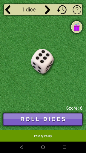 virtual dices screenshot 1