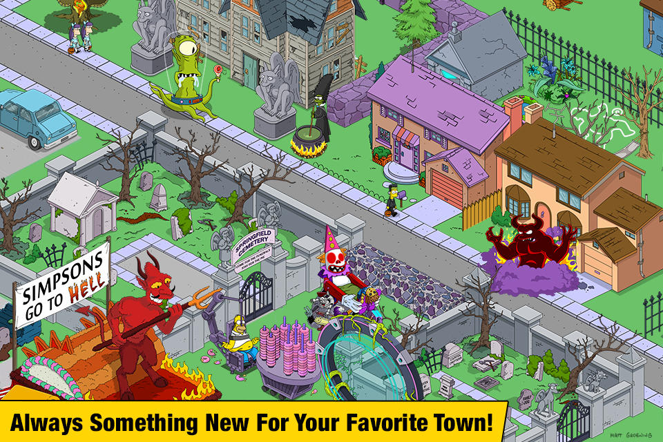 The Simpsons™: Tapped Out poster 3