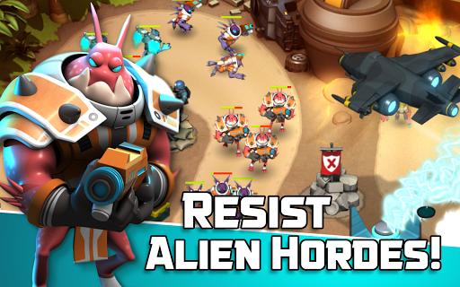 Alien Creeps TD - Epic tower defense 2.31.2 Screenshots 8