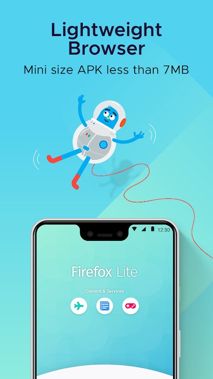 Firefox Lite — Fast and Lightweight Web Browser  poster 1