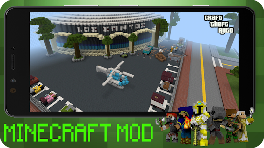 Craft Theft Auto for GTA Minecraft 2021 Apk Download 5