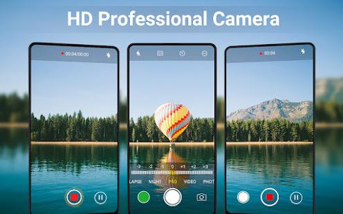 Professional HD Camera with Selfie Camera 1.7.3 Screenshots 1