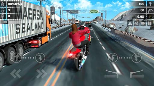 Road Rash 3D: Smash Racing apkpoly screenshots 2