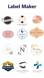 Label Maker - Logo Creator and Designer
