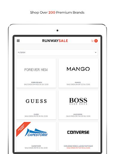 RunwaySale modavailable screenshots 11