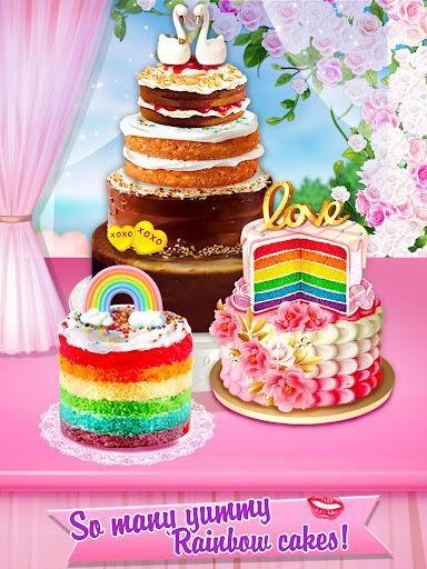 Wedding Rainbow Cake For BIG Day screenshots 1