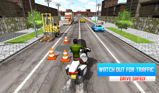 Moto Race 3D 5 APK + Mod (Unlimited money) for Android