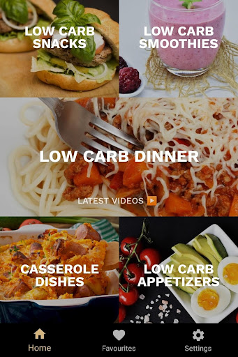 Foto do Low Carb Diet Apps: Recipes for weight loss