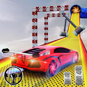 Crazy Car Driving Simulator: Mega Ramp Car Stunts