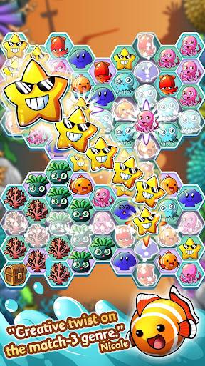 Ocean Blast u2013 Match-3 Puzzler  screenshots 1