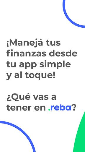 Reba: Servicios Financieros + Billetera Virtual  screenshots 1