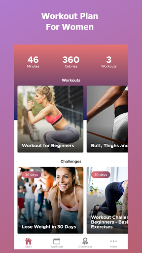 Foto do Female Fitness - Workout at Home for Women