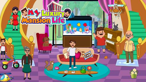 My Luxury Mansion Life: Rich & Elite Lifestyle apkmartins screenshots 1