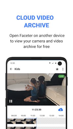 Faceter u2013 Free DIY Cloud Video Surveillance 1.24.1 Screenshots 3