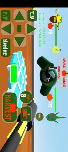 Space Orange Harvest 3D 1 screenshots 1