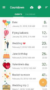 Countdown Days App & Widget MOD APK (Premium Unlocked) 1