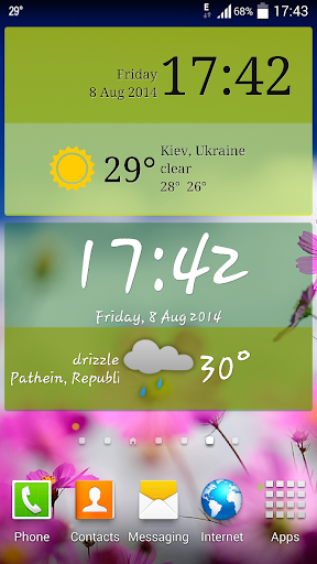 Weather ACE Clock Widget Pack For PC Windows (7, 8, 10, 10X) & Mac Computer Image Number- 7