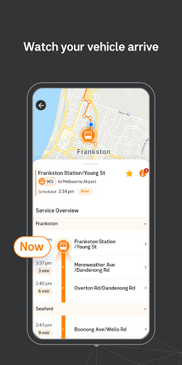 Public Transport Victoria app  Screenshots 5