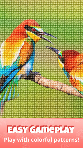 Cross Stitch Gold: Color By Number, Sewing pattern  screenshots 7