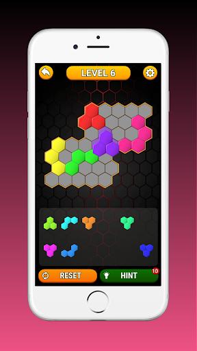 Code Triche Hex Block! Hexa Match Puzzle Game (Astuce) APK MOD screenshots 6