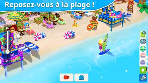 Télécharger Gratuit Mon petit paradis : gestion de station de vacances mod apk screenshots 4