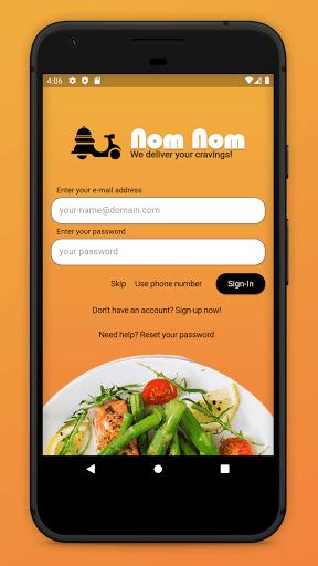 Nom Nom - Food Delivery  Screenshots 3
