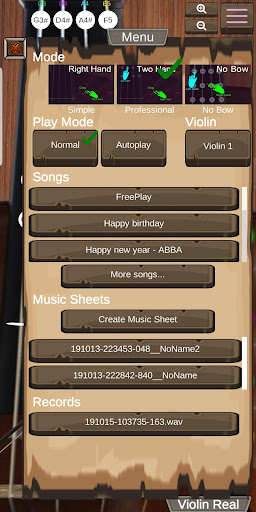 Violin Real 1.4 screenshots 4