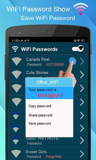 WiFi Password key Show - WiFi Analyzer  screenshots 8