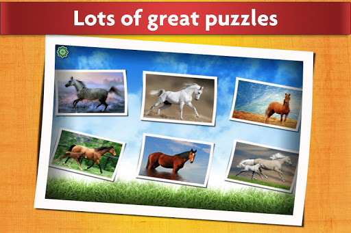 Horse Jigsaw Puzzles Game - For Kids & Adults ud83dudc34 android2mod screenshots 2