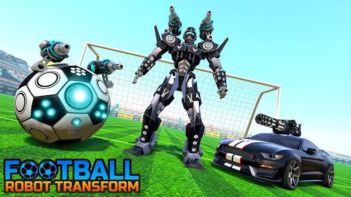 Football Robot Car Game: Muscle Car Robot  screenshots 1