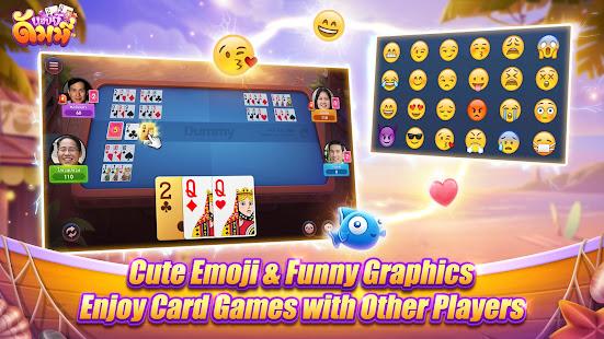 Happy Dummy - with dummy, khaeng card, Poker 1.2.8 Screenshots 7