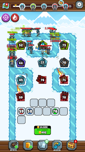 Merge Kingdoms - Tower Defense apkpoly screenshots 8