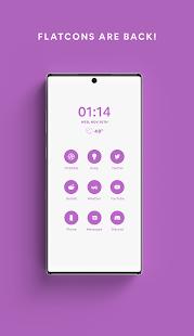 Lavender - A Flatcon Icon Pack