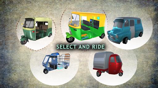 Tuk Tuk Rickshaw:  Auto Traffic Racing Simulator screenshots 3