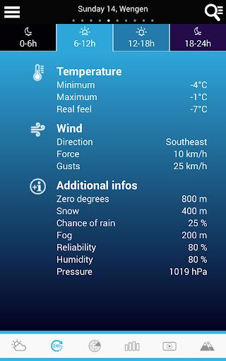 Swiss Weather 1.7.0.19 Screenshots 18