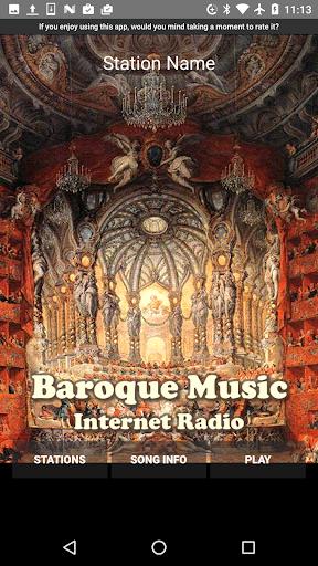 baroque music - internet radio screenshot 1