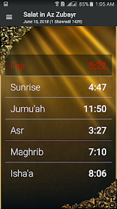 Prayer Timings Muslim Salatuk 4