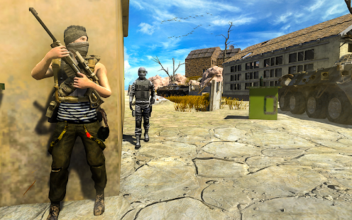 Real Commando Shooting Games- Free Adventure Games Screenshot