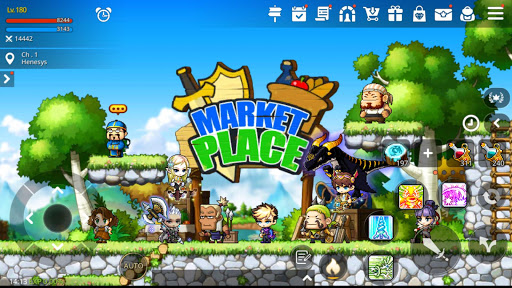 MapleStory M - Open World MMORPG 1.6100.2430 screenshots 16