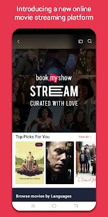 BookMyShow - Movie Tickets & Live Events Screenshot