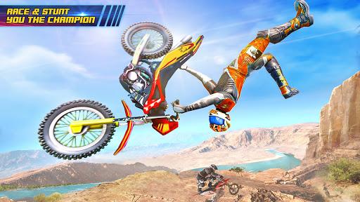 Motocross Dirt Bike Stunt Racing Offroad Bike Game apktram screenshots 8