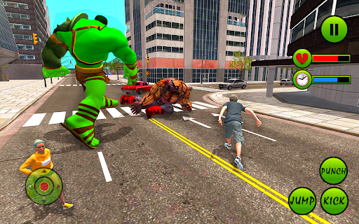 Incredible Monster Hero City Battle New Games 2021  screenshots 9