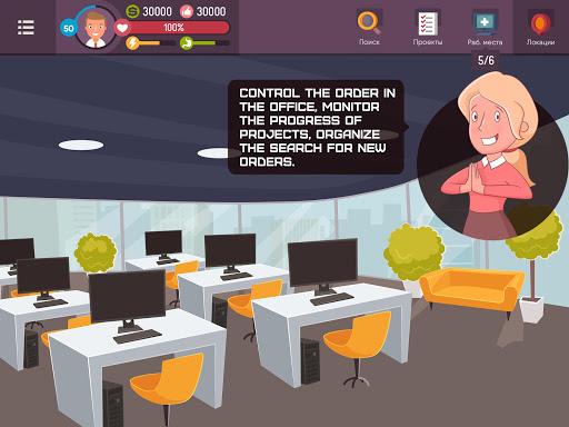 Hacker - tap smartphone tycoon, life simulator Apkfinish screenshots 17