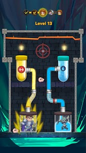 Hero Pipe Rescue: Water Puzzle 4