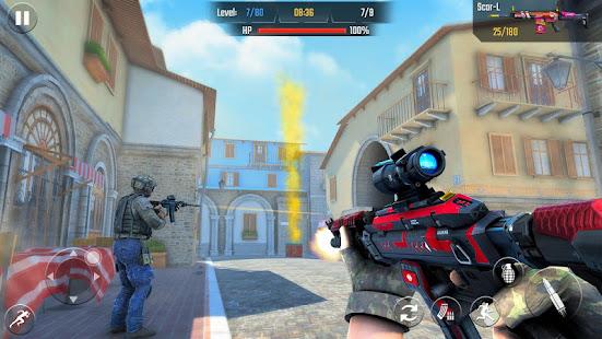 Real Commando Shooting 3D Games-Offline Games 2021 1.34 Screenshots 10