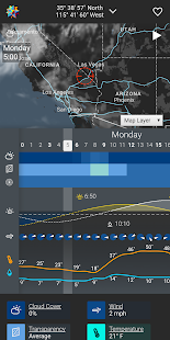 Astrospheric - Astronomy Weather Forecasting Screenshot